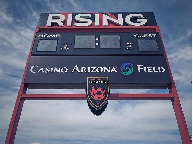 Phx Rising FC Partners Up With Casino AZ